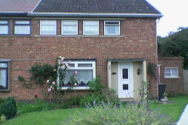 Thumbnail Semi-detached house to rent in 3 Bedroom Furnished Semi Detached House, Quarry Close, Rugby