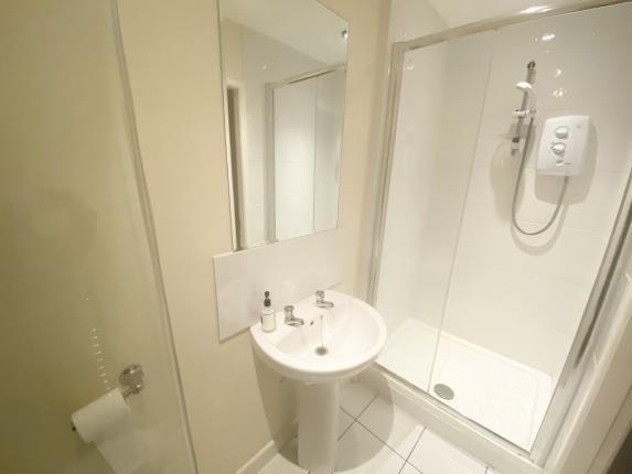 Shower Room of St. Davids House, 24 High Street, Mold, Flintshire CH7