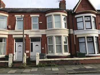 Thumbnail Terraced house to rent in 35 Walsingham Road, Wallasey, Wirral