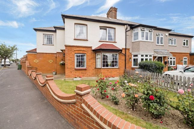 Thumbnail Semi-detached house for sale in Derham Gardens, Upminster