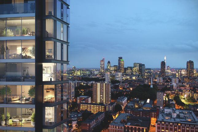 Thumbnail Flat for sale in 250 City Road, London