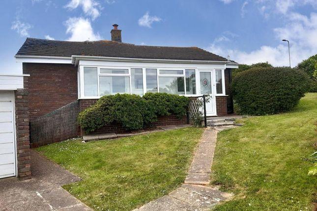 Thumbnail Semi-detached bungalow to rent in Brixington Drive, Exmouth, Devon