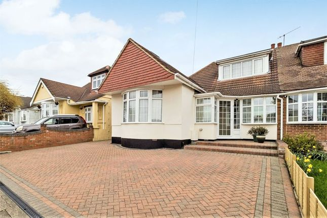 Thumbnail Semi-detached bungalow for sale in Clyde Way, Rise Park, Romford