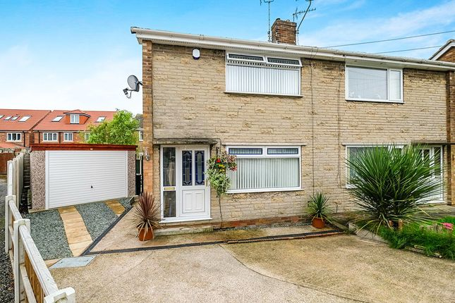 Thumbnail Semi-detached house for sale in Athorpe Grove, Dinnington, Sheffield