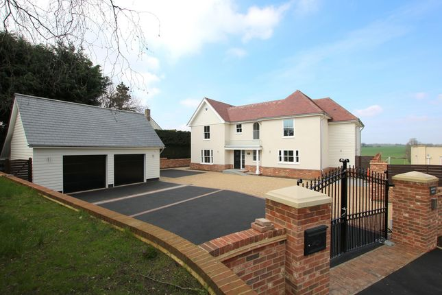Thumbnail Detached house for sale in Little Bardfield Road, Little Bardfield, Braintree, Essex