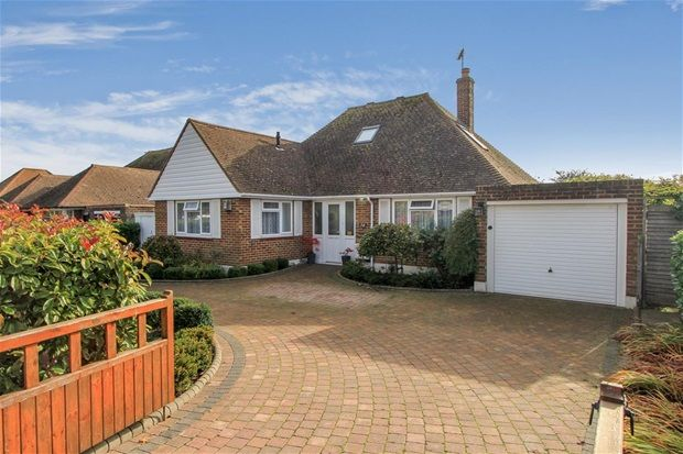 Thumbnail Detached bungalow for sale in Swalecliffe Road, Tankerton, Whitstable