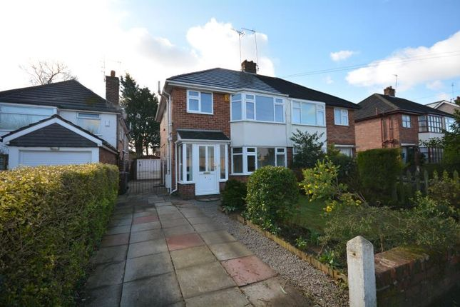 Thumbnail Semi-detached house to rent in Park Road, Eastham, Wirral