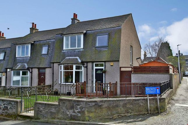 Thumbnail End terrace house for sale in Brown Street, Aberdeen