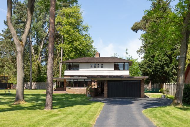 Thumbnail Detached house for sale in Lovelace Avenue, Solihull, Birmingham
