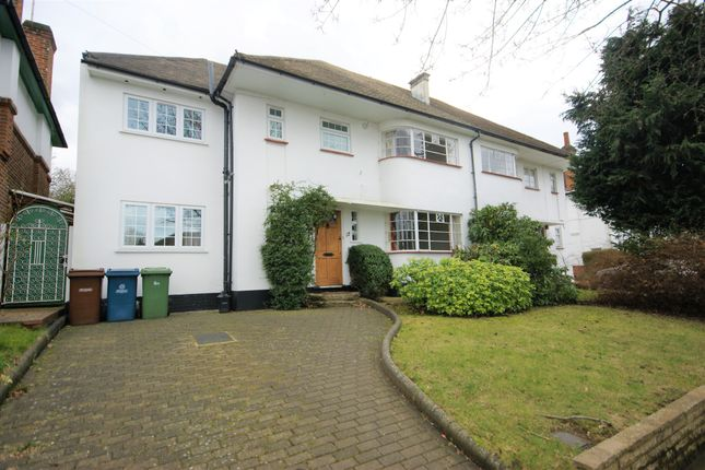 Thumbnail Semi-detached house to rent in Cranbourne Drive, Pinner, Middlesex