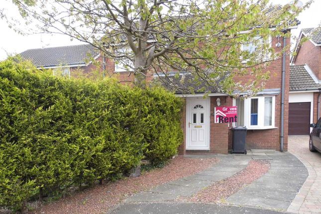 Thumbnail Property to rent in Callaly Close, Pegswood, Morpeth