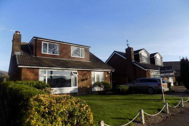 Thumbnail Detached bungalow to rent in Cranwell Avenue, Culcheth