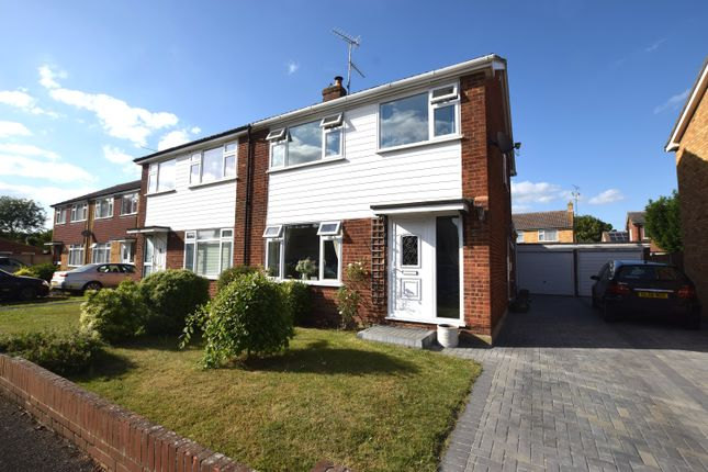 Thumbnail Semi-detached house for sale in Johnson Road, Great Baddow, Chelmsford