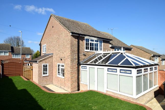 Thumbnail Semi-detached house for sale in Kings Meadow, Kedington, Haverhill