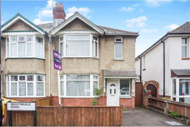 Thumbnail Semi-detached house for sale in Nightingale Road, Shirley, Southampton