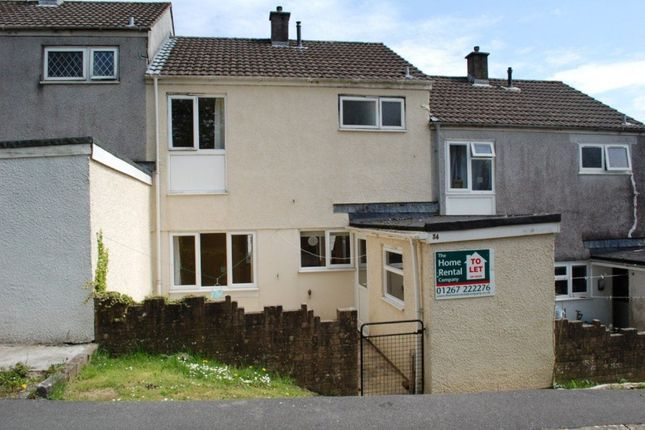 Thumbnail Property to rent in Bro Myrddin, Carmarthen