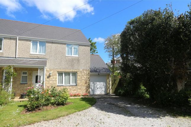 Thumbnail Semi-detached house for sale in The Hollies, Trerise Road, Camborne