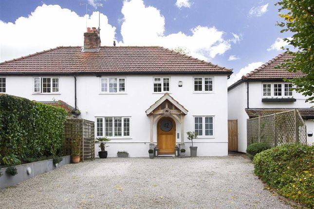 Thumbnail Semi-detached house for sale in Kimpton Road, Blackmore End, Hertfordshire