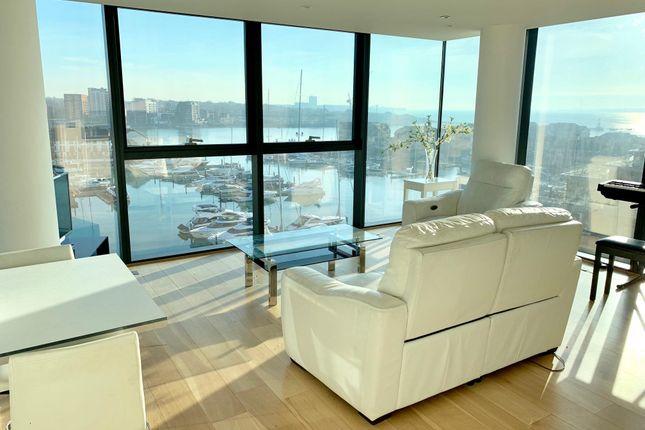 Thumbnail Flat to rent in Ocean Way, Ocean Village, Southampton