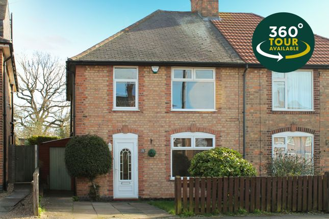 3 bed semi-detached house for sale in Scott Street, Knighton Fields, Leicester LE2