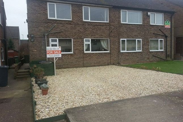 Thumbnail 2 bed flat to rent in Wheatfield Road, Lincoln