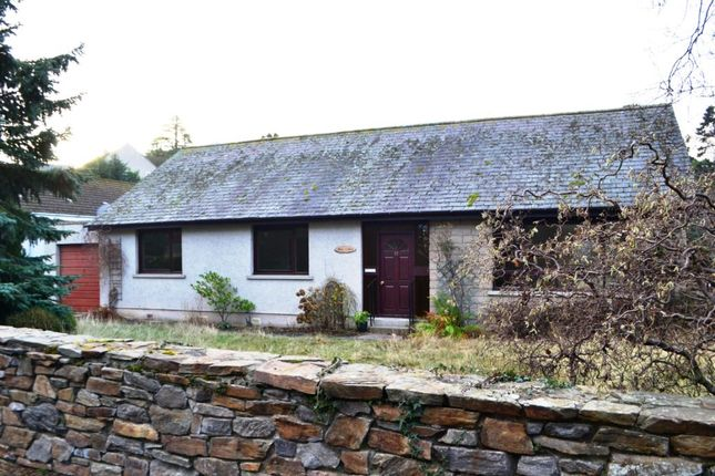 Thumbnail Detached bungalow to rent in Dun Coille, 17 Croft Road, Forres