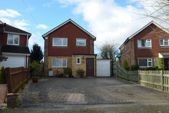 Thumbnail Detached house for sale in Bedford Crescent, Frimley Green, Surrey