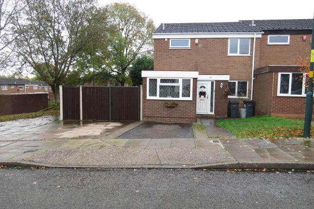 Thumbnail End terrace house to rent in Drake Road, Erdington, Birmingham