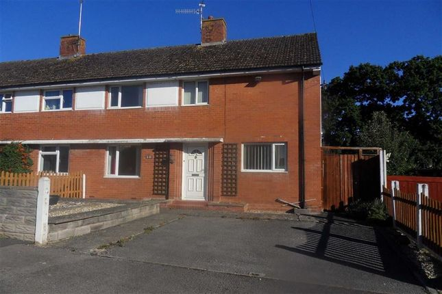 Thumbnail Semi-detached house to rent in Ladyhill, Usk, Monmouthshire