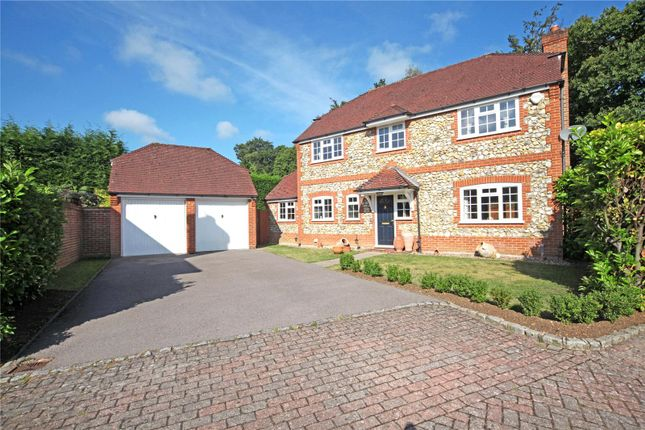 Thumbnail Detached house for sale in Heywood Drive, Bagshot, Surrey