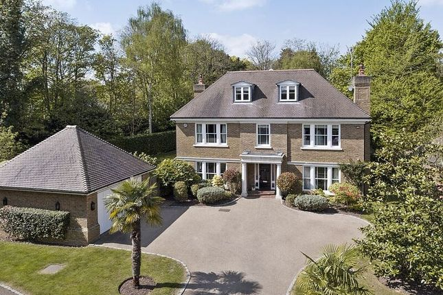 Thumbnail Detached house for sale in Chargate Close, Burwood Park, Hersham, Walton-On-Thames