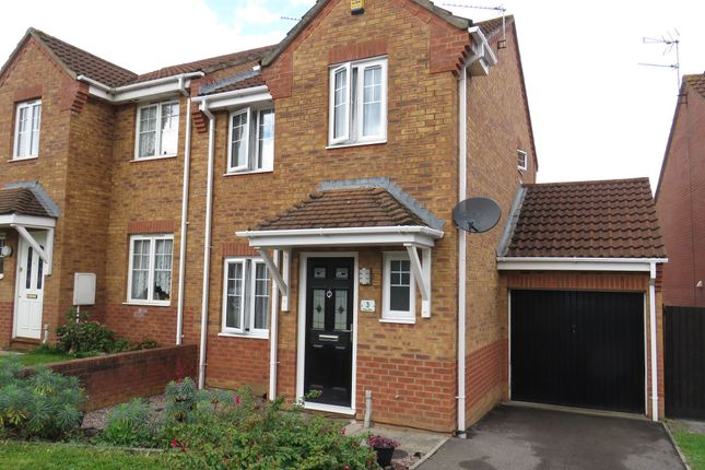 Thumbnail Semi-detached house for sale in Shipley Mow, Emersons Green, Bristol