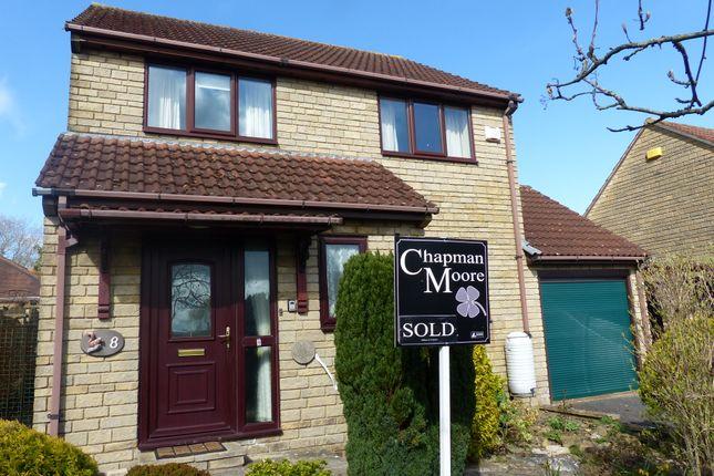 Thumbnail Detached house for sale in Hilmar Drive, Gillingham