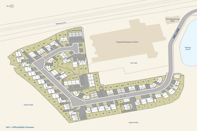 Site Plan of The Landings, Coppull, Chorley, Lancashire PR7