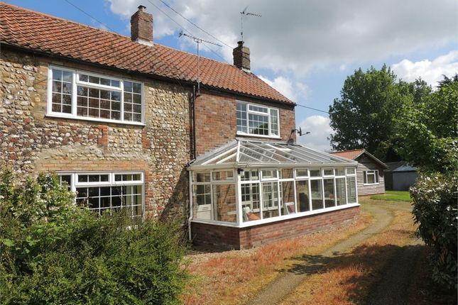 Thumbnail Semi-detached house for sale in Church Lane, Boughton, King's Lynn