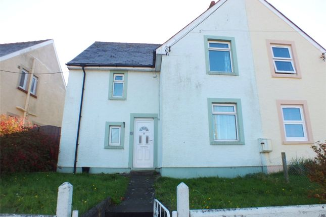 Thumbnail Semi-detached house for sale in Nubian Crescent, Hakin, Milford Haven