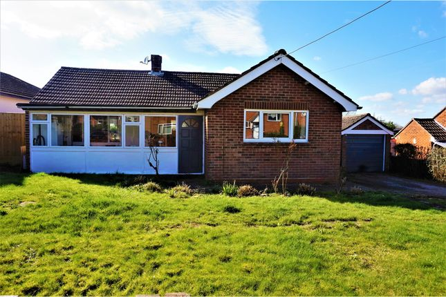 Thumbnail Detached bungalow for sale in Crawts Road, Overton