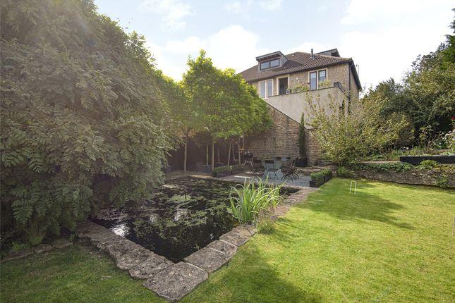Garden of Grosvenor Villas, Bath, Somerset BA1