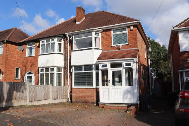 Thumbnail Semi-detached house for sale in Calverley Road, Kings Norton, Birmingham