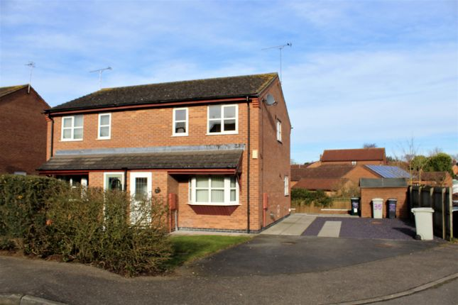 Thumbnail Semi-detached house for sale in Magellan Drive, Spilsby