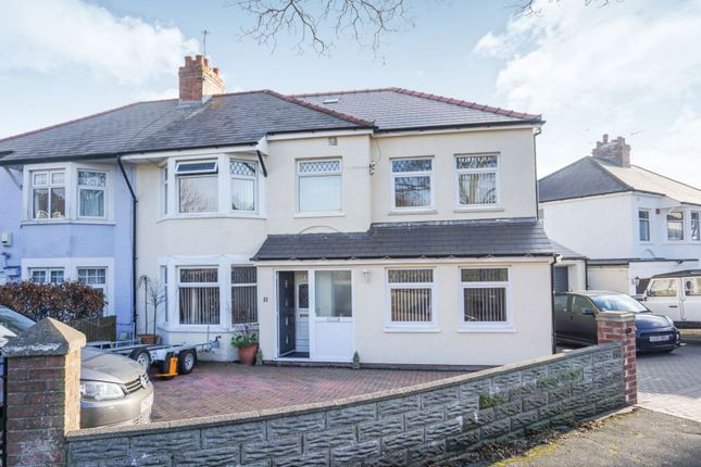 Thumbnail Semi-detached house for sale in Hastings Place, Penarth