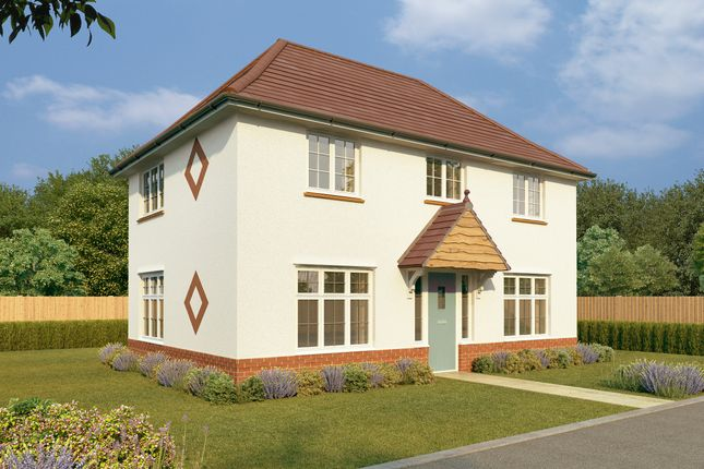 Thumbnail Semi-detached house for sale in Plot 155 - The Amberley, Stockley Lane, Calne, Wiltshire
