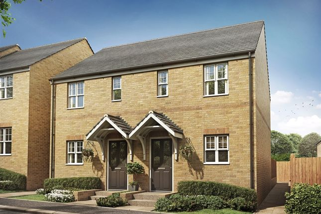 "2 bed terraced house for sale in ""Alnmouth "" at Wilbury Close, Coate, Swindon SN3"