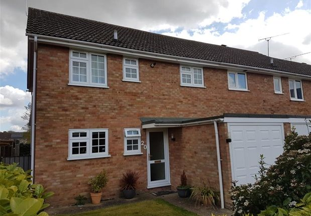 Thumbnail Semi-detached house to rent in Sanderling Close, Mildenhall, Bury St. Edmunds