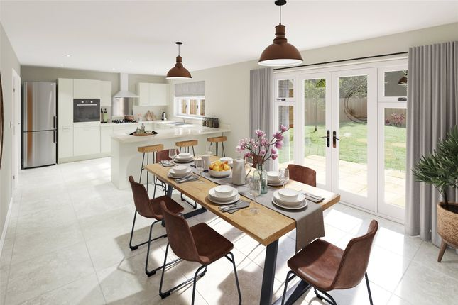 Thumbnail Detached house for sale in The Strawberry Field, Rea Lane, Hempsted, Glos