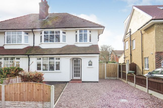 Thumbnail Semi-detached house for sale in Sherwood Road, Meols, Wirral