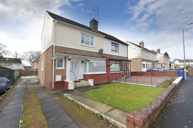 Thumbnail Semi-detached house for sale in Balmoral Crescent, Inchinnan, Renfrew