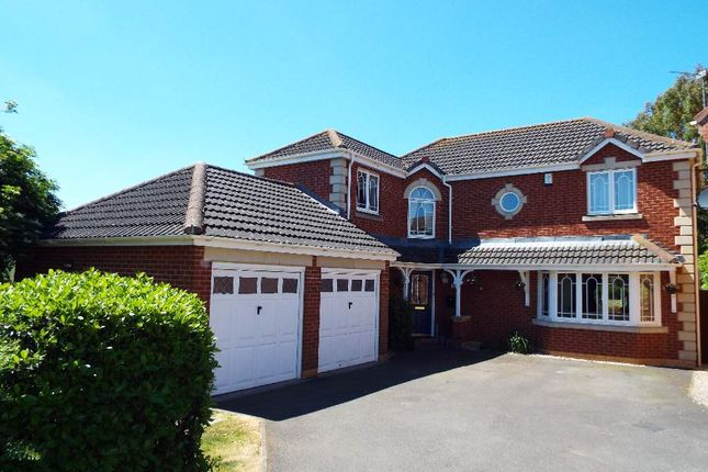 Thumbnail Detached house for sale in Coulon Close, Irchester, Northamptonshire