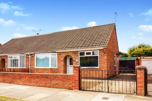 Thumbnail Semi-detached bungalow for sale in Almsford Road, York