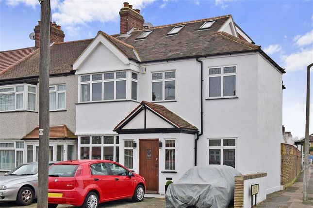 Thumbnail End terrace house for sale in Buxton Crescent, Cheam, Surrey